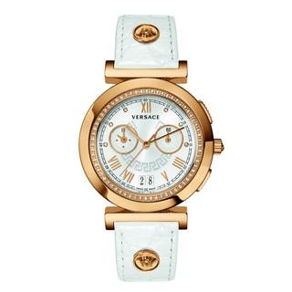 Versace Women's VANITY CHRONO Silver Watch