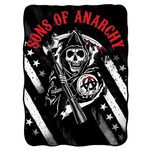 Sons Of Anarchy Throw