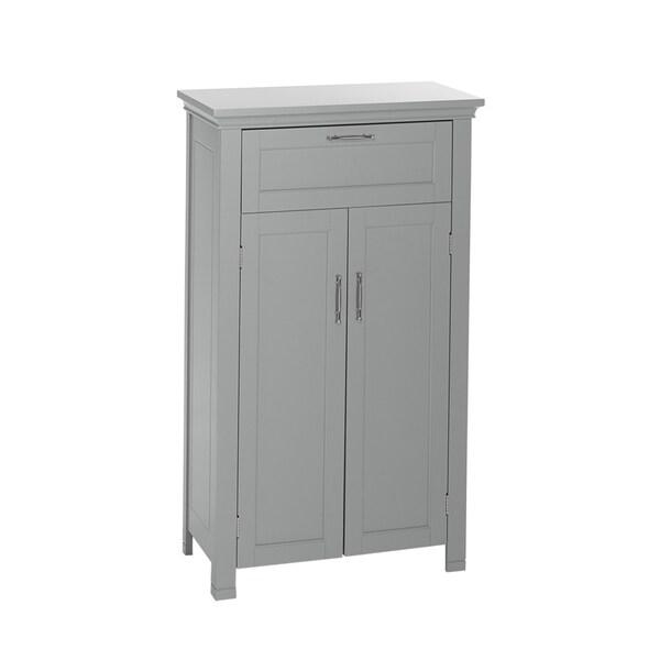 Riverridge Somerset Collection Grey 2 Door Floor Cabinet