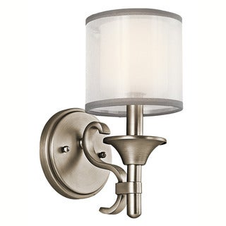 Kichler Lighting Lacey Collection 1-light Antique Pewter Wall Sconce