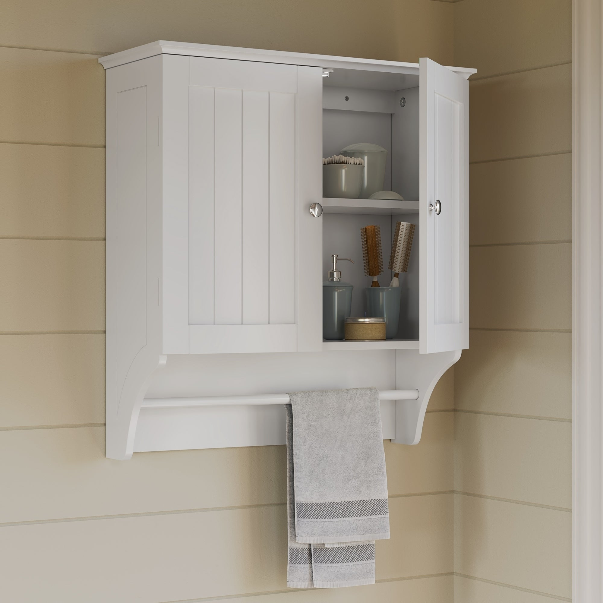 Buy Wall Cabinet Bathroom Cabinets Storage Online At Overstock