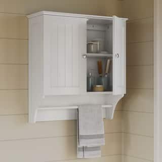bathroom wall cabinet white. RiverRidge Ashland Collection 2 Door Wall Cabinet Bathroom Cabinets  Storage For Less Overstock com