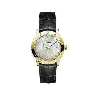 Versace Women's Acron Mother of pearl Watch