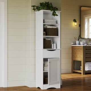Spectacular RiverRidge Ashland Collection Tall Cabinet