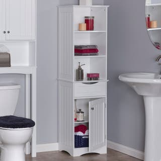 12 24 Inches White Bathroom Cabinets Amp Storage For Less