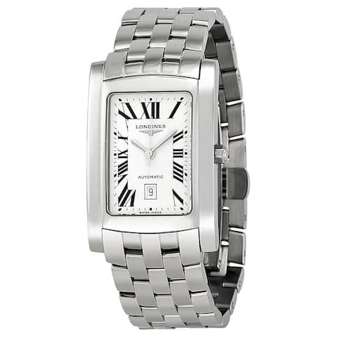 Longines Men's L56574716 'Dolce Vita' Stainless Steel Watch