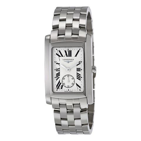 Longines Men's L56554716 'Dolce Vita' Stainless Steel Watch