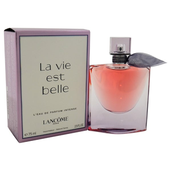 489e6fbbf Shop Lancome La Vie Est Belle Women's 2.5-ounce L'Eau de Parfum Intense  Spray - Free Shipping Today - Overstock - 12090912