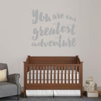 Sweetums 'You Are Our Greatest Adventure' 48-inch x 40-inch Wall Decal