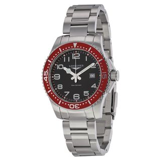 Longines Men's L36884596 'Hydroconquest' Stainless Steel Watch