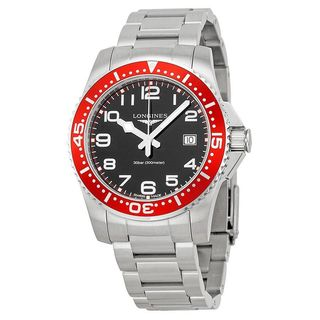 Longines Men's L36894596 'HydroConquest' Stainless Steel Watch