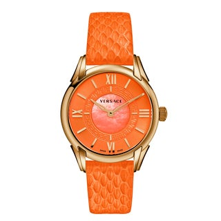 Versace Women's DAFNE Orange Watch