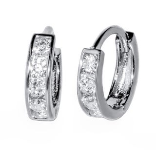 Pori Sterling Silver Cubic Zirconia Earrings