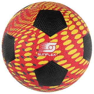 Sunflex Multicolor Rubber Extreme Splash Soccer Ball
