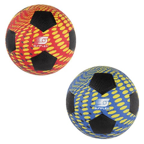 Sunflex Multicolor Rubber Extreme Splash Soccer Ball