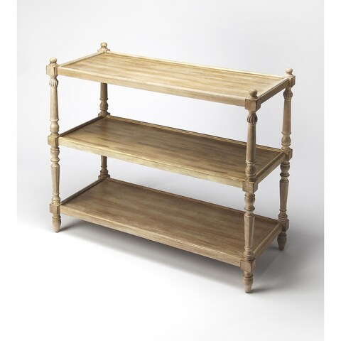 Butler Rothwell Driftwood 3-Tier Console Table