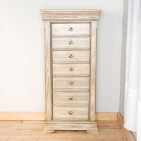 Hives and Honey Hailey Taupe Mist Jewelry Armoire