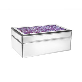 Allure by Jay Purple Pearl Jewelry Box