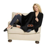 NFL 453 Bengals Silk Touch Wrap Throw