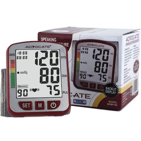 Advocate Speaking Wrist Blood Pressure Monitor