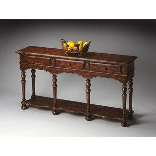 Butler Ashland Tobacco Leaf Console Table