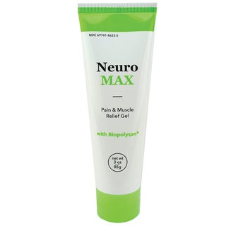 NeuroMax 3-ounce Pain and Muscle Relief Gel with Biopolysan
