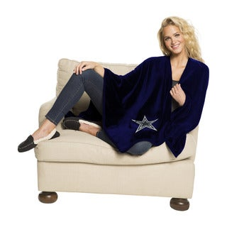 NFL 453 Cowboys Silk Touch Wrap Throw