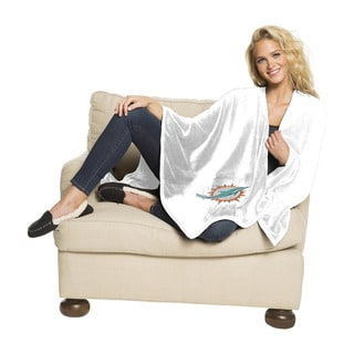 NFL 453 Dolphins Silk Touch Wrap Throw