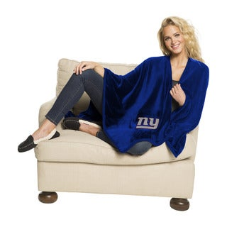 NFL 453 NY Giants Silk Touch Wrap Throw