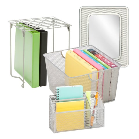 Honey-Can-Do Silver Back to School Kit 1