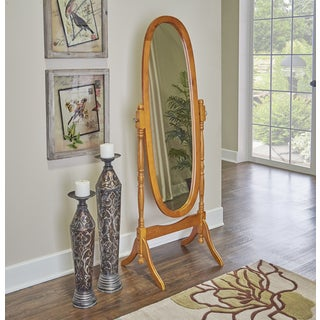 Powell Parker Oak Cheval Mirror