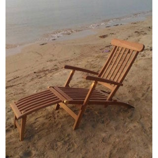 Teak Steamer Loung Chair