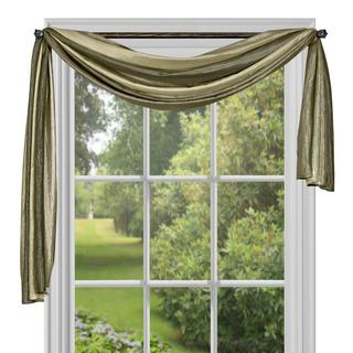 Achim Ombre Window Curtain Scarf