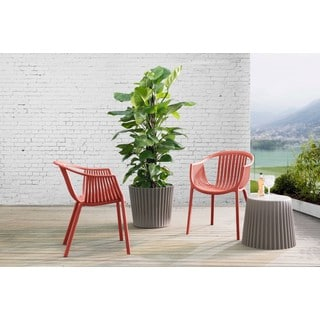 Sunjoy Polypropylene Basketweave Chair