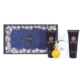 Versace Pour Homme Men's 4-piece Gift Set
