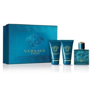Versace Eros Men's 3-piece Gift Set