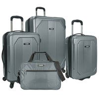U.S. Traveler Bloomington 4-piece Hardside/Softside Spinner Luggage Set