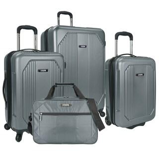 U.S. Traveler Bloomington 4-piece Hardside/Softside Spinner Luggage Set