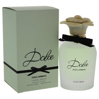 Dolce & Gabbana Floral Drops Women's 1.7-ounce Eau de Toilette Spray