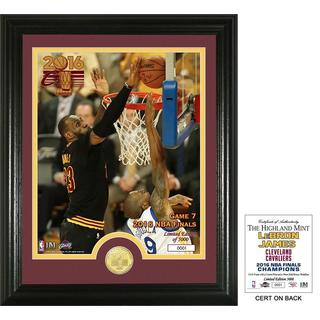 Lebron James Bock GM 7 Bronze Coin Photo Mint