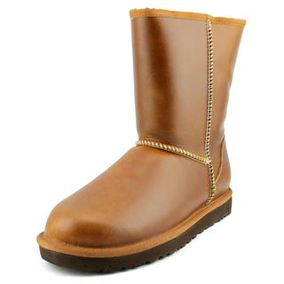 UGG Australia Women's 'Classic Short Leather' Brown Boots