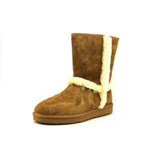 Ugg Australia Women's Carter Brown and Cream Regular Suede Boots