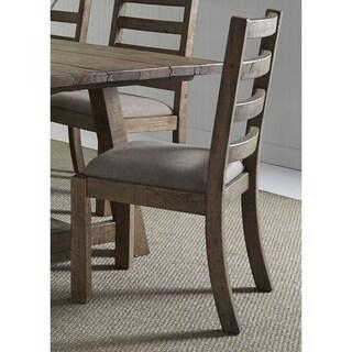 Prescott Valley Antique Honey Ladderback Dining Chair