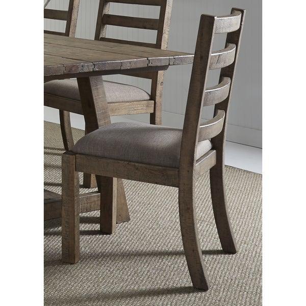 shop prescott valley antique honey ladderback dining chair free