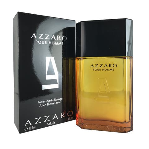 Azzaro Men's 3.4-ounce After Shave Lotion Splash - Clear