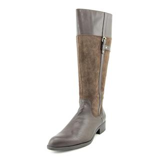 Easy Spirit Women's Domina Brown Suede Knee-high Boots