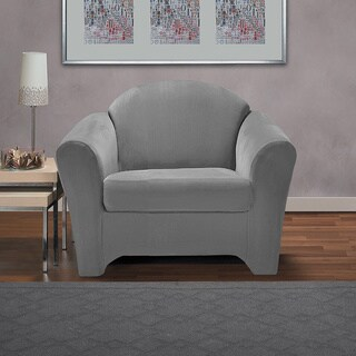 CoverWorks Eastwood 2-piece Stretch Chair Slipcover