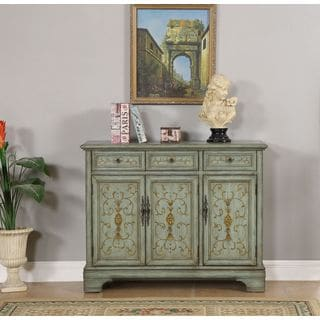 Three Door Three Drawer Credenza