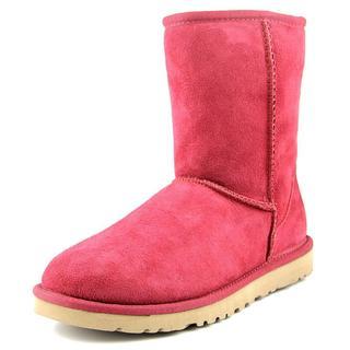 Ugg Australia Women's Classic Short Red Regular Suede Boots