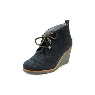 Sperry Top Sider Women's Harlow Regular Black Suede Boots